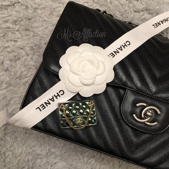 0cba5758ff0f CHANEL Jewelry | Authentic Cc Classic Flap Bag Brooch Nwt | Poshmark